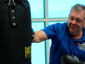 Como entrenar técnicas de golpes en el boxeo