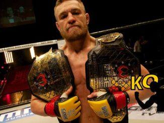 El entrenamiento de Conor McgGregor, la estrella de la UFC.