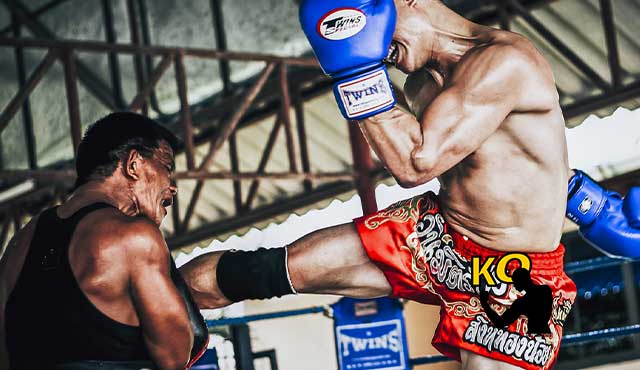 Muay Thai endurecer las tibias