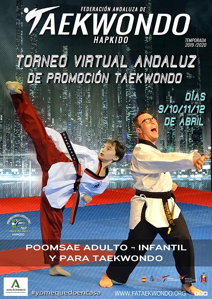 Cartel I torneo virtual